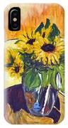 Slunecny-triptych IPhone Case