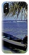 Small Boat Belize IPhone Case