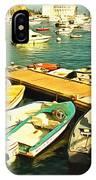 Small Boat Dock Catalina Island California IPhone Case