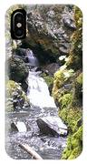 Small Falls At Boulder Cave IPhone Case