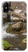 Small Falls Below Big Falls IPhone Case
