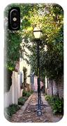 Small Lane In Charleston IPhone Case