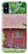 Small Red Barn - Lewes Delaware IPhone Case
