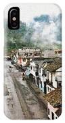 Small Town Ecuador IPhone Case