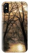 Smoke By The Water IPhone Case