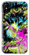 Smoke Gets In Your Eyes IPhone Case