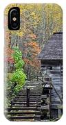 Smokey Mountain Grist Mill IPhone Case