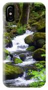 Smokey Mountain Stream IPhone Case