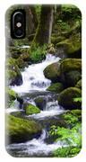 Smokey Mountain Stream IPhone Case