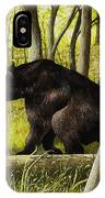 Smoky Mountain Bear IPhone Case