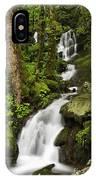 Smoky Mountain Cascade - D002388 IPhone Case