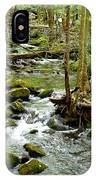 Smoky Mountain Stream 1 IPhone Case