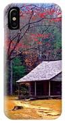 Smoky Mtn. Cabin IPhone Case