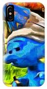 Smurfette And Friends - Pa IPhone Case