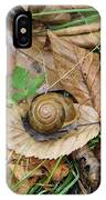 Snail At Home IPhone Case