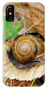Snail Home IPhone Case