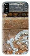 Snails At Home With Lichen IPhone Case