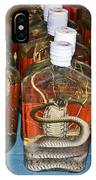 Snake In A Bottle IPhone Case