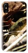Snake In Nature IPhone Case