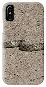 Snake On The Road IPhone Case
