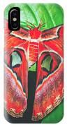 Snakehead Moth IPhone Case
