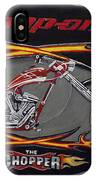 Snap-on Chopper IPhone Case