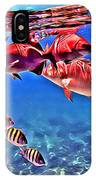Snapper Feed IPhone Case