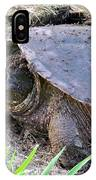 Snapping Turtle Laying Eggs IPhone Case