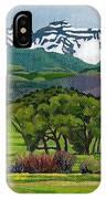 Sneffels Range Spring Acrylic IPhone Case