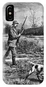 Snipe Hunters, 1886 IPhone Case