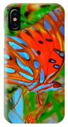 Snooty Butterfly IPhone Case