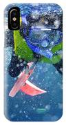 Snorkeling At The Great Barrier Reef IPhone Case