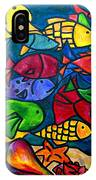Snorkeling Off Norman Island IPhone Case