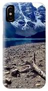Snow Above Moraine Lake IPhone Case