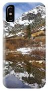 Snow-capped Refections IPhone Case