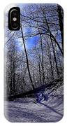 Snow Covered Path IPhone Case