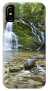 Snow Creek Falls IPhone Case