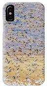 Snow Geese Take Off 3 IPhone Case