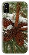 Snow In The Pine IPhone Case