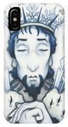 Snow King Slumbers IPhone Case