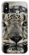 Snow Leopard Upclose IPhone Case