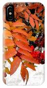Snow On Scarlet Magick IPhone Case