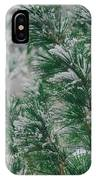 Snow On The Pine IPhone Case