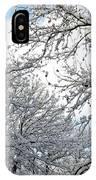 Snow On Trees IPhone Case