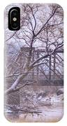 Snow Over White Cloud IPhone Case