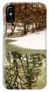 Snow Pond IPhone Case