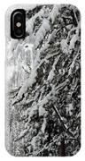 Snow, Trees, Yellowstone IPhone Case