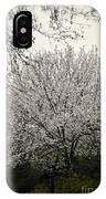 Snow White Flowering Tree IPhone X Case