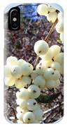 Snowberry Cluster IPhone Case
