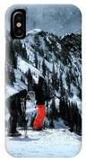 Snowbird IPhone Case